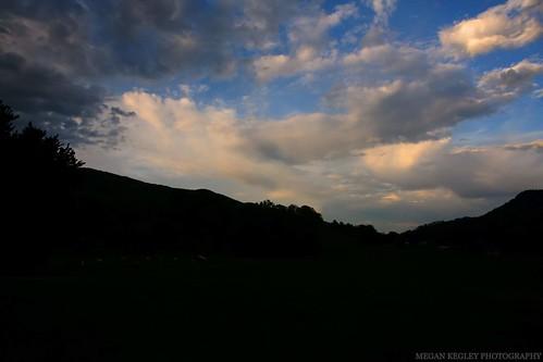 nature storm evening sky clouds exploring virginia appalachian appalachianmountains