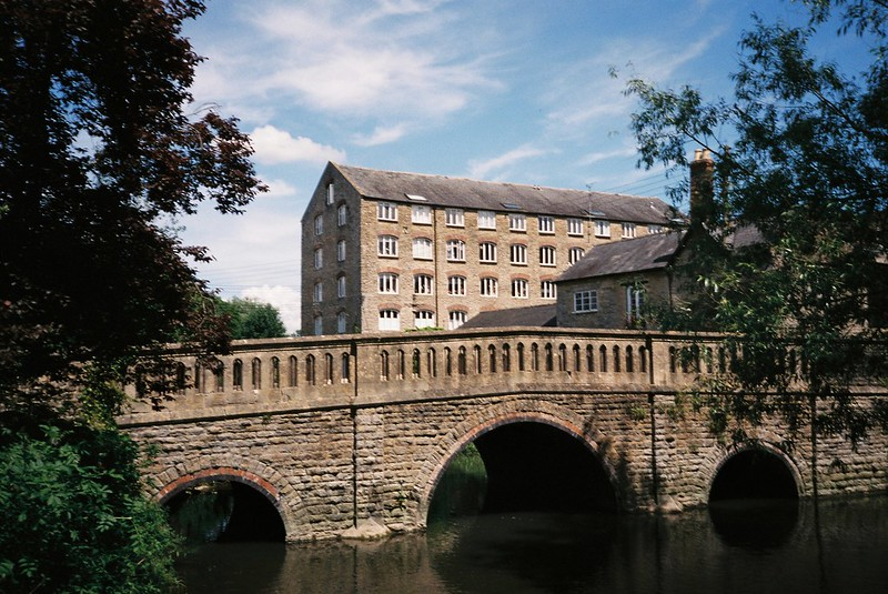 The Sherston Avon at Avon Mills, Malmesbury