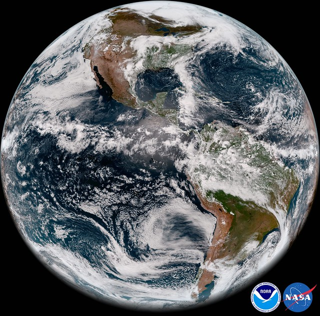 First Full Disk ABI Image from GOES-17