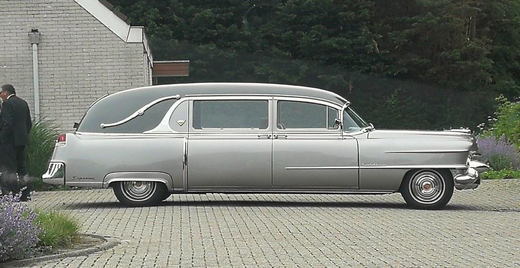 1955 Cadillac Superior Coach Hearse | Skitmeister | Flickr
