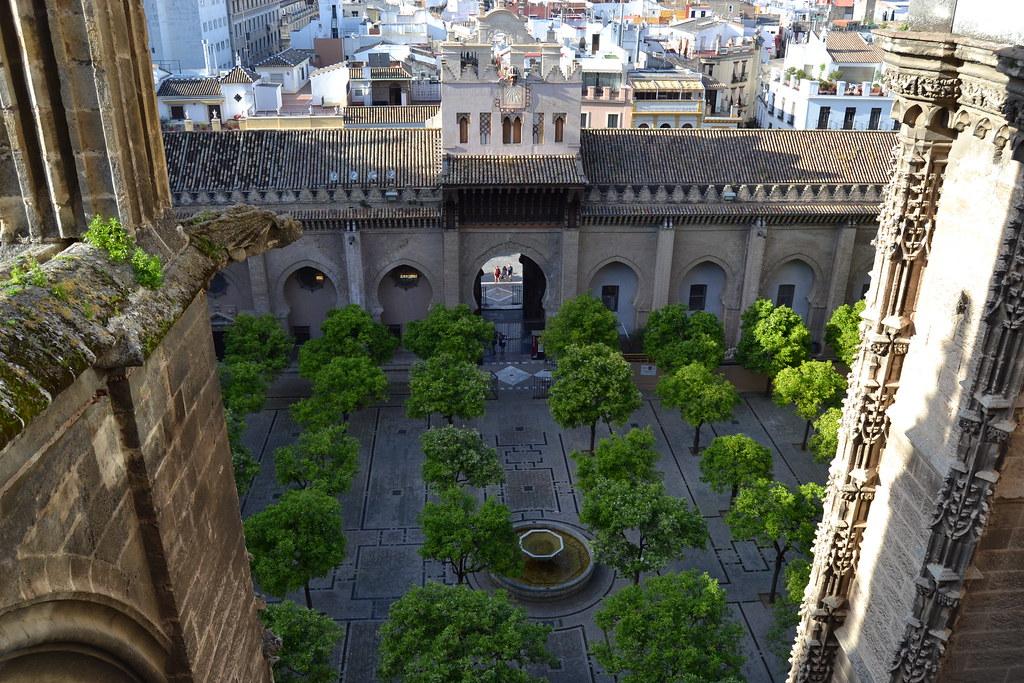 Resultado de imagen de Patio de los Naranjos Sevilla