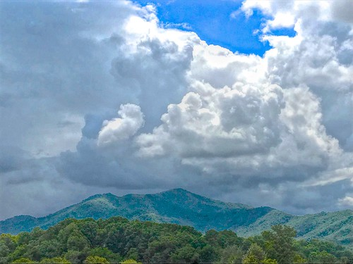 clouds stormy sky mountains landscape nature haywoodcounty northcarolina