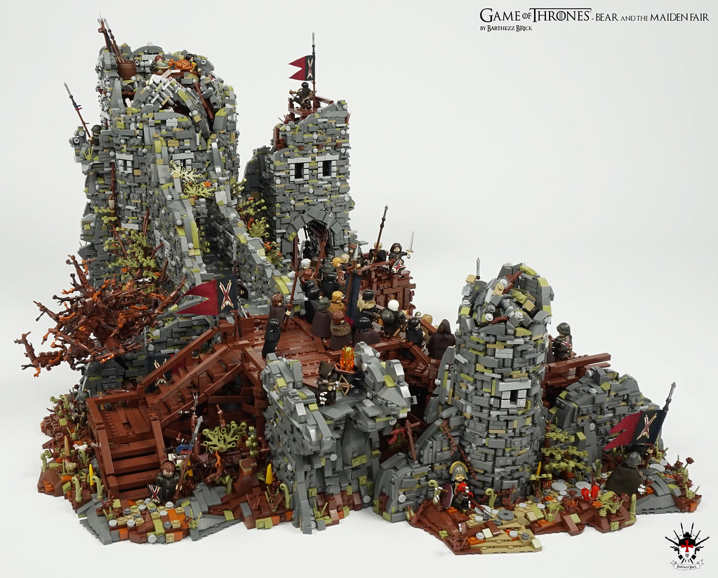 Lego Game Of Thrones Bear And The Maiden Fair By Barth