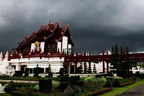 "chiangmai เชียงใหม่ park สวน rachapruek ราชพฤกษ์ rain ฝน ""royalpavilion"" หอคำหลวง september กันยายน ประเทศไทย thailand เมืองไทย ""powershot260hd"" earthasia"
