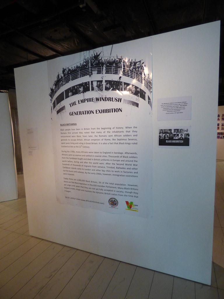 The Empire Windrush Generation Exhibition