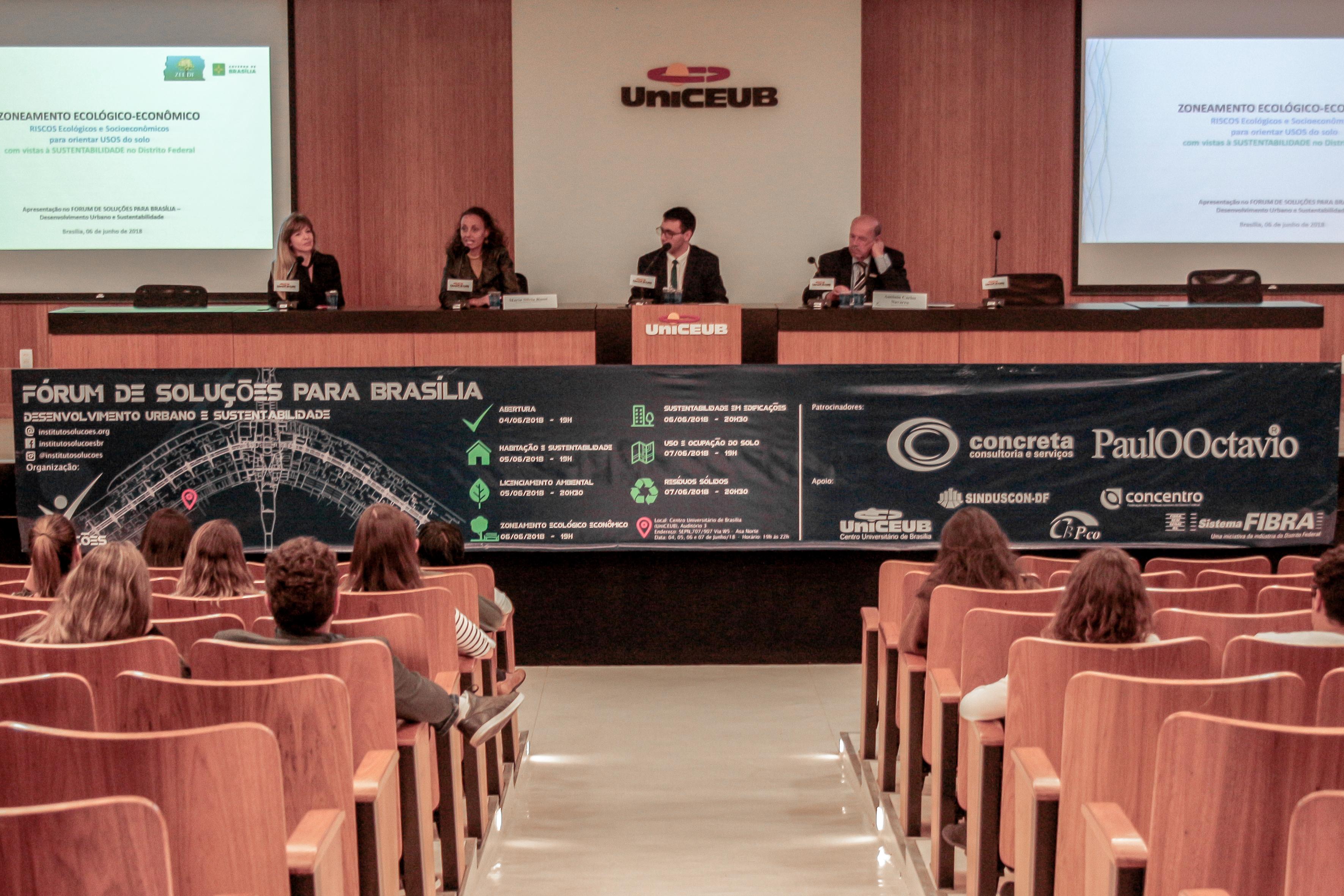 Fórum de Soluções para Brasília - 6 6 2018