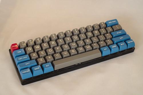 Pok3r keyboard with custom keycabs | by Triple-green