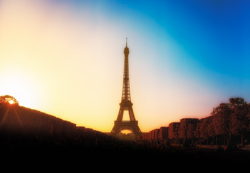 A different vibe of Eiffel Tower, Paris, France