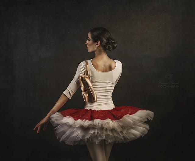 Bailarina: Maria Jurado. Sesión Ballet en Almería. http://carmenpascualsoler.com/
