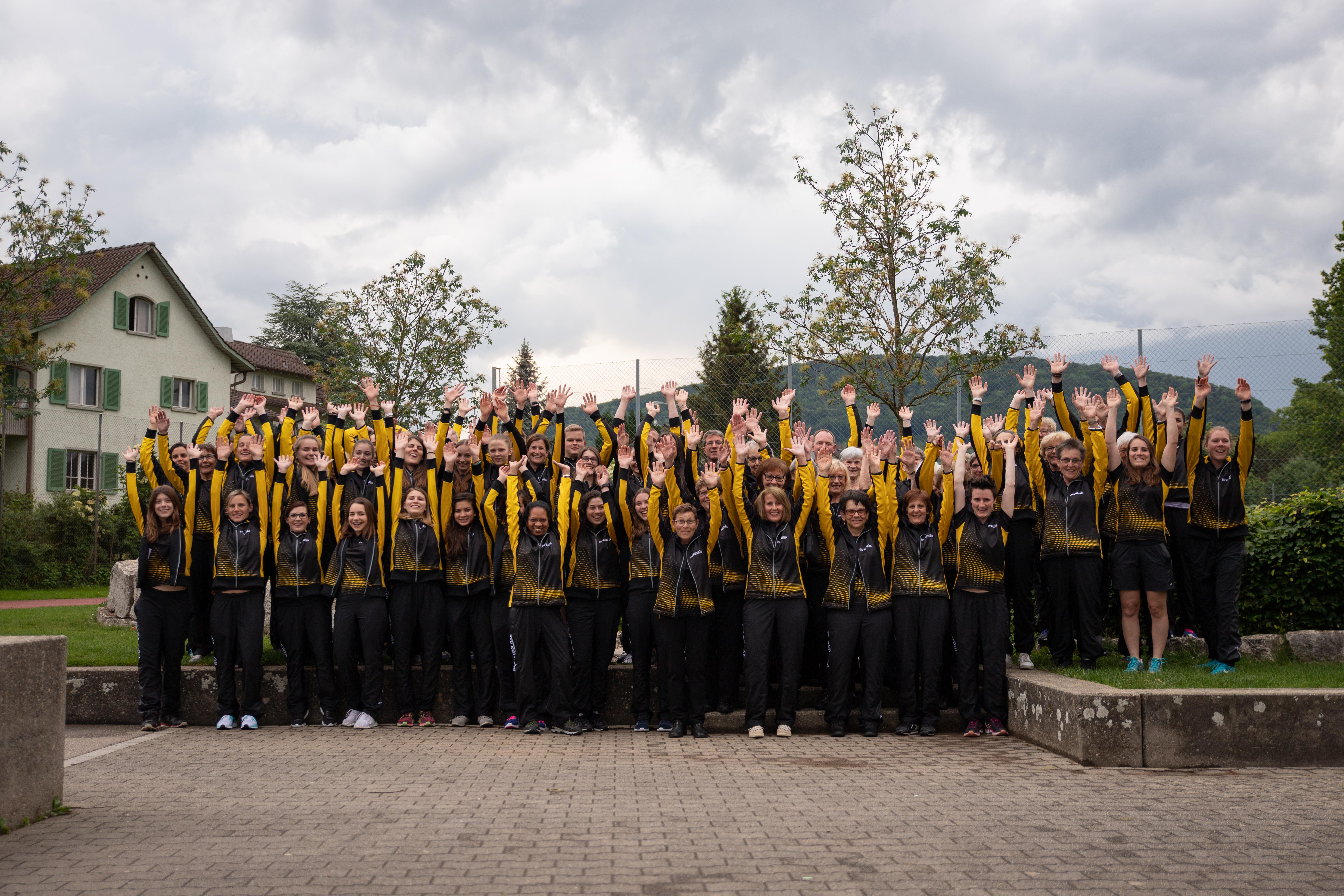 Portraits und Gruppenfoto mit anschliessendem GTK Training