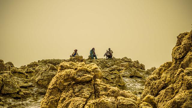 Norte de Ethiopía, zona fronteriza, siempre vigilantes (día 2)