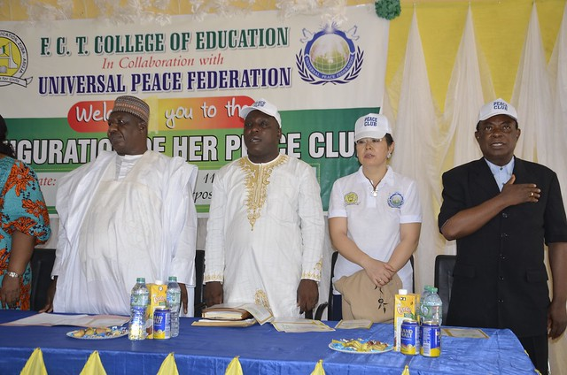 Nigeria-2018-05-03-Peace Club Inaugurated in Abuja, Nigeria