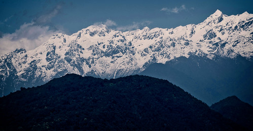 sikkimindia2018 kangchenjunga mountainrange sikkim india in