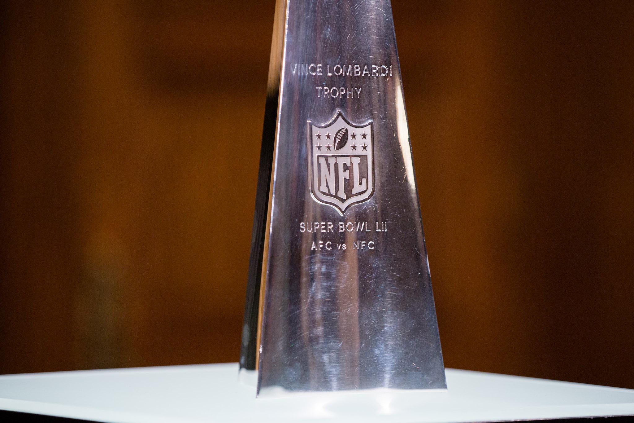 Vince Lombardi Trophy Visits the Pennsylvania Capitol