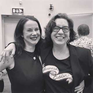 Lorna Campbell & Donna Lanclos, keynotes at #CELT18 Symposium, Galway, 15 June 2018 | by catherinecronin