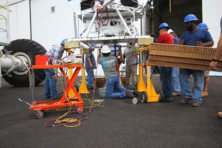 Installing the ballast hopper and crush pads | by sjbenton