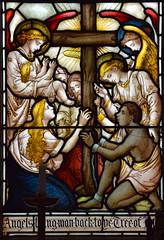 Angels of salvation (Isaac Alexander Gibbs, 1880s)