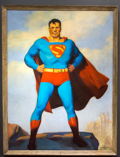 HJ Ward Superman - Superman - Cleveland Public Library | by Tim Evanson