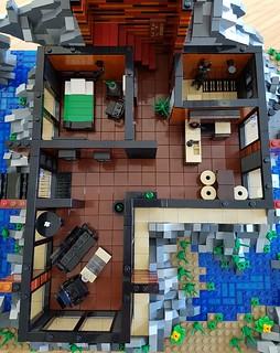 Lava House MOC ground floor house plan | by betweenbrickwalls