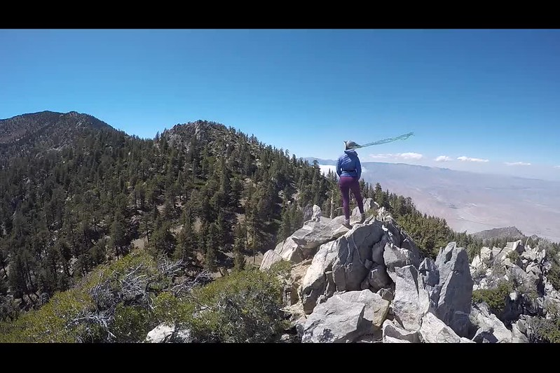 111 GoPro Video panorama from the summit of Yale Peak in the San Jacinto Wilderness