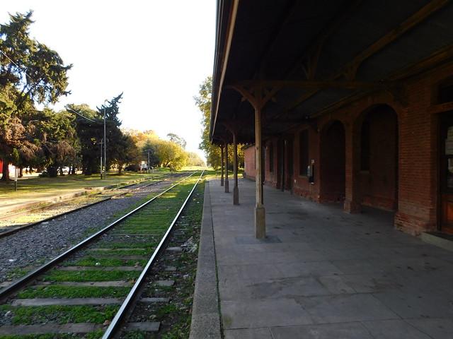 Estación de Trenes Antártida Argentina. Rosario