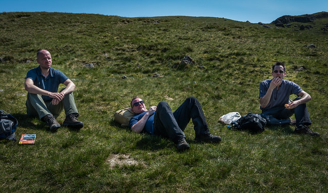 Down time at Sickle Tarn