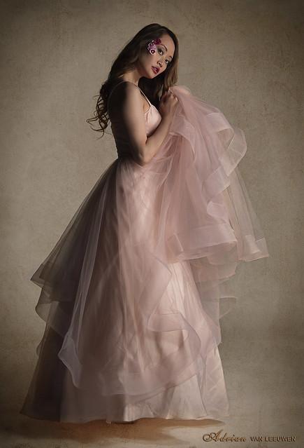 Model in Pink - Indoors
