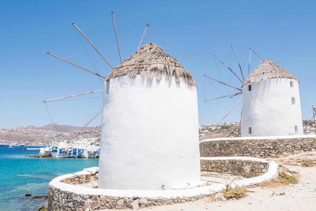 Windmills of Kato Mili