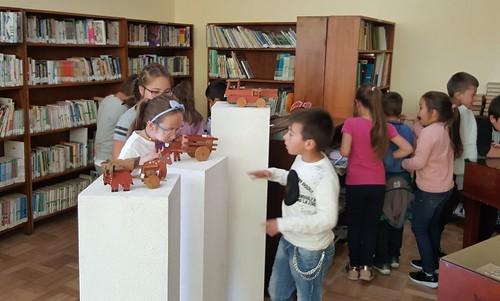 Atividades na Biblioteca