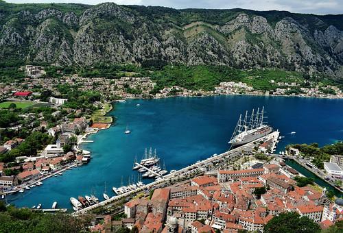 view bay fjord bayofkotor kotor montenegro balkans travel