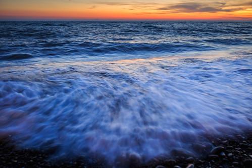 枋山鄉 屏東縣 台灣 456k 海岸 海灘 海浪 ef1635mm 6d sunset 日落 夕陽 夕彩 浪花 雲彩