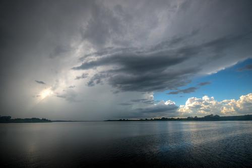 storm thunderstorm cloud hdr lakemanatee florida fl fla landscape clouds