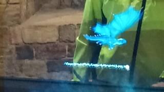 Dragon hologram draig