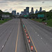 I-35W closed, looking north from 42nd Street by schwerdf