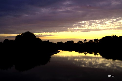 ams gainsborough sunset lincolnshire pentax rivertrent trent river sky