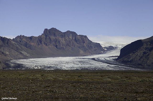 Lengua glaciar Skaftafellsjökul - Islandia