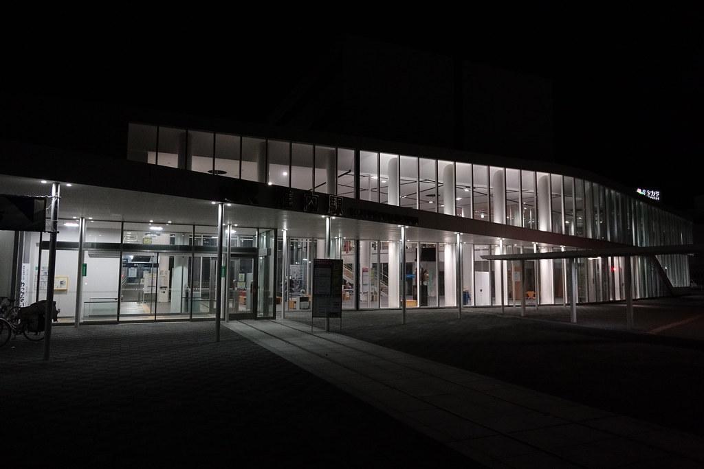 JR Wakkanai Station at 2 am