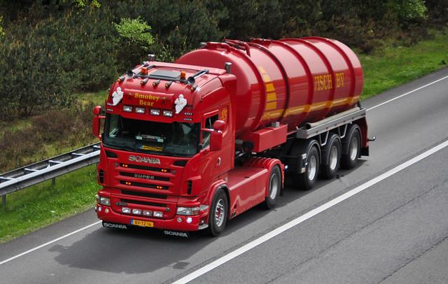 Scania R500 Visch BV - Doornspijk