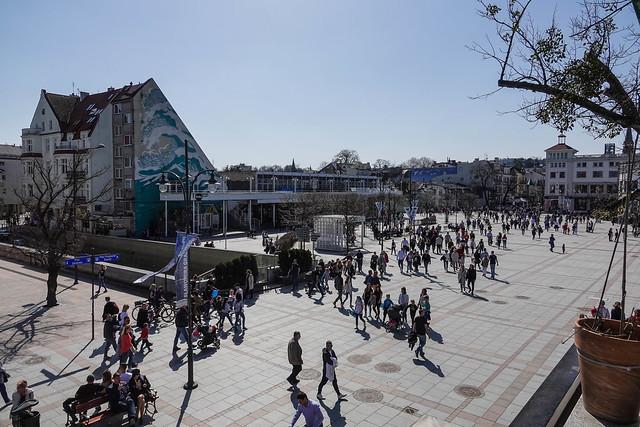 Sopot market square