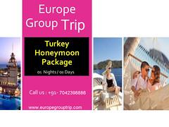 Best Turkey honeymoon tour package in India