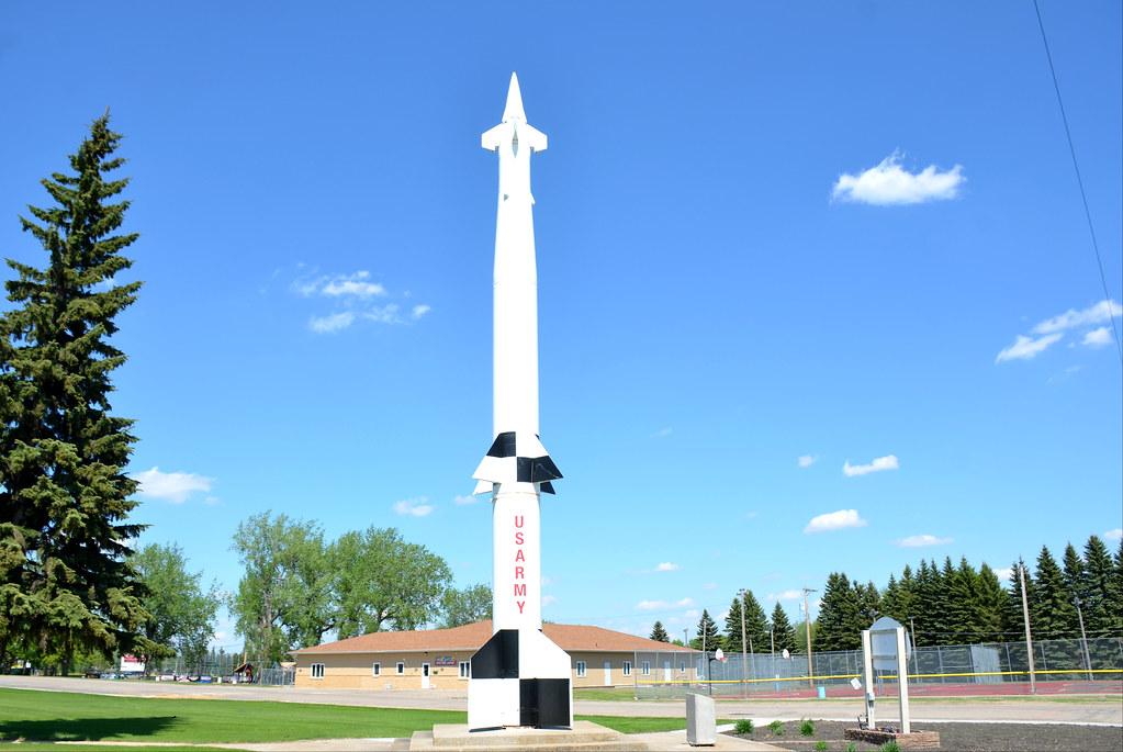LIM-49A Spartan Missile, U  S  Army, North Dakota, Langdon