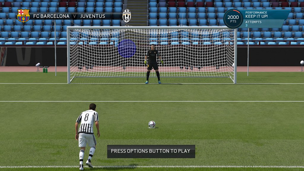FIFA 16 Penalty Practicing