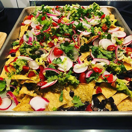 I should be embarrassed to admit how often we make nachos for dinner on Saturdays. But I'm not. | by pcarpen