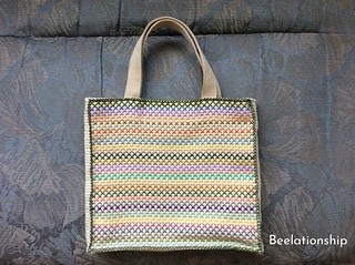 Pastel Color Tote Bag 002 | by Beelationship Embroidery Studio