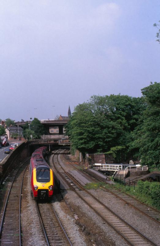 45116 Chester 27 Mei 2005 Br Dmu Class 221 No 221 Kort Flickr