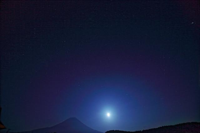 Mt.Fuji of moonlight