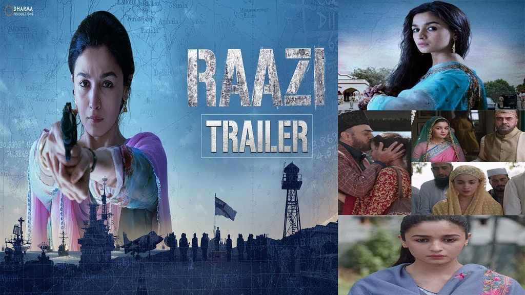 Raazi Trailer Alia Bhatt 2018 New Movie Bollywood New Tra Flickr