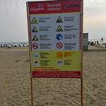 SeaSafe information board - Cox