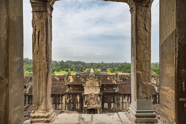 From the Top of Angkor Wat Temple