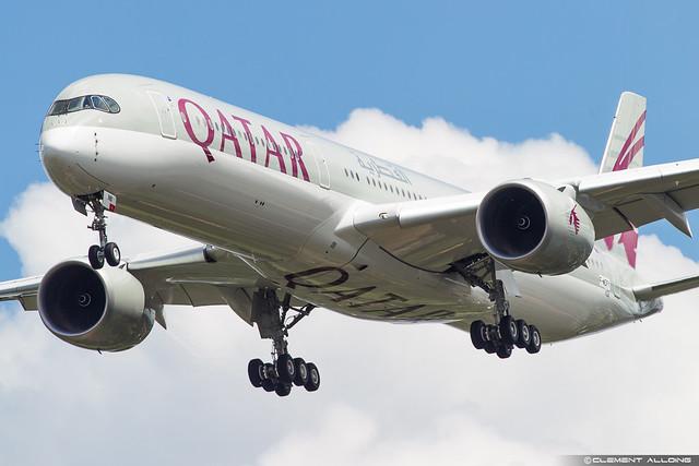 Qatar Airways Airbus A350-1041 cn 102 F-WZFY // A7-ANB